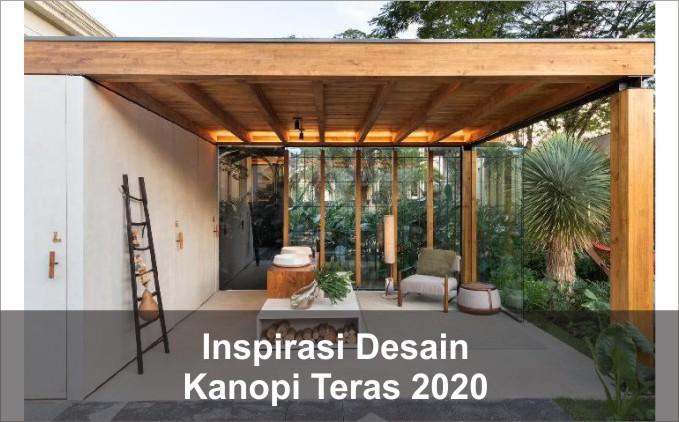 desain kanopi teras rumah
