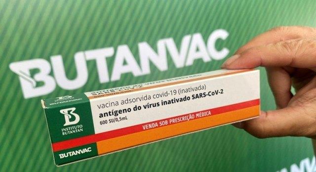 SP começa a produzir o primeiro lote de 18 milhões de doses da Butanvac, a vacina com produção totalmente nacional contra a COVID-19