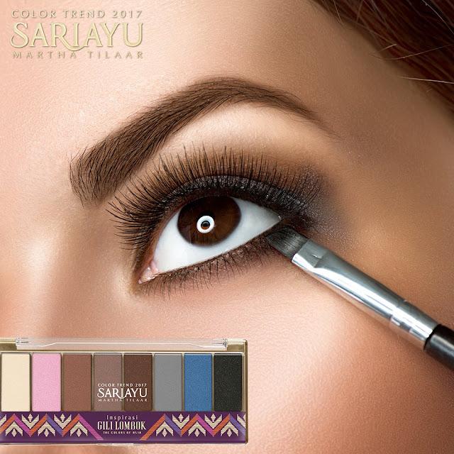Eye Shadow Sariayu Membuat Wajah Kita Lebih Segar