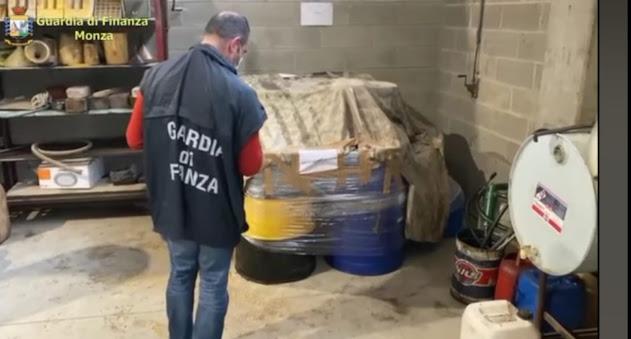 Monza: Operazione Cangerous oil – sequestrati distributori clandestini