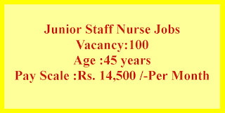 Junior Staff Nurse Jobs in Government Medical College and Associated Hospitals, Jammu Recruitment 2021
