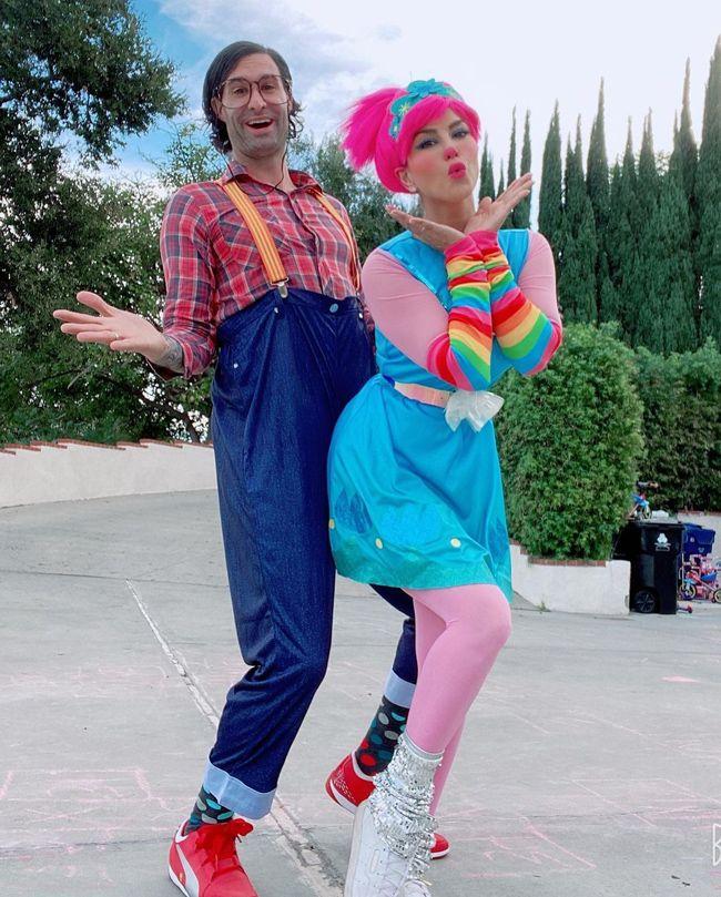 Sunny Leone and Husband Halloween Looks