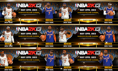 NBA 2K13 Knicks Jersey Fix (Darker Blue)