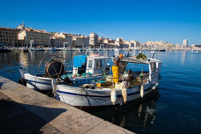 Vieux port-Quais des belges-Marsiglia