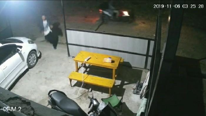 Waspada! Pencuri Gentayangan di BTN Lappa Mas I, Lihat Videonya