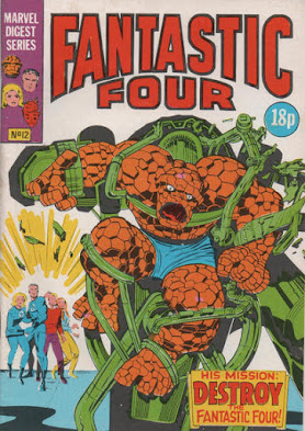 Fantastic Four #12, the Thing goes amok