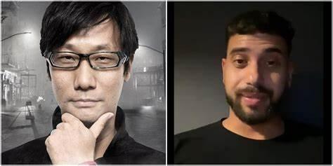Hideo Kojima left, Hasan Kahraman right