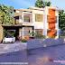 2185 sq-ft modern flat roof house