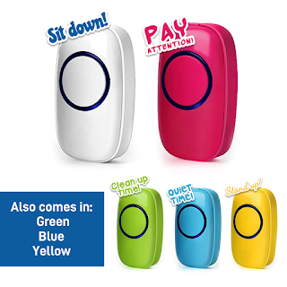 classroom management system with classroom wireless doorbells program each doorbell buzzer with a different chime.