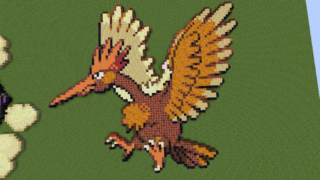 minecraft pixelart pokemon