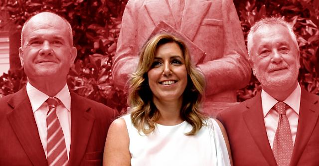 Chaves y Griñán piden la baja del PSOE tras su procesamiento por el caso de los ERE