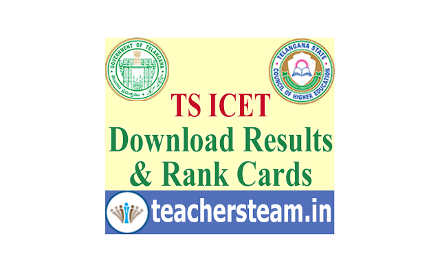 Download TS ICET Results Rank Cards