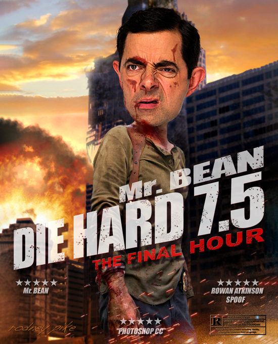 Mr Bean - Die Hard 7.5