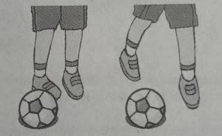 Menendang Bola Dengan Kaki Bagian Luar