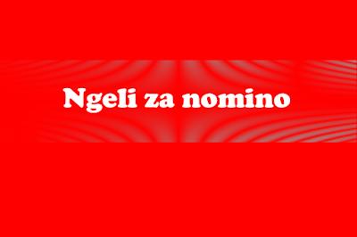 FORM THREE KISWAHILI STUDY NOTES TOPIC 1: NGELI ZA MANENO