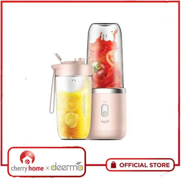 Achieve Healthy Eating and Drinking with the Cherry Home Deerma Wireless Juicer; Yours for Only Php1,490