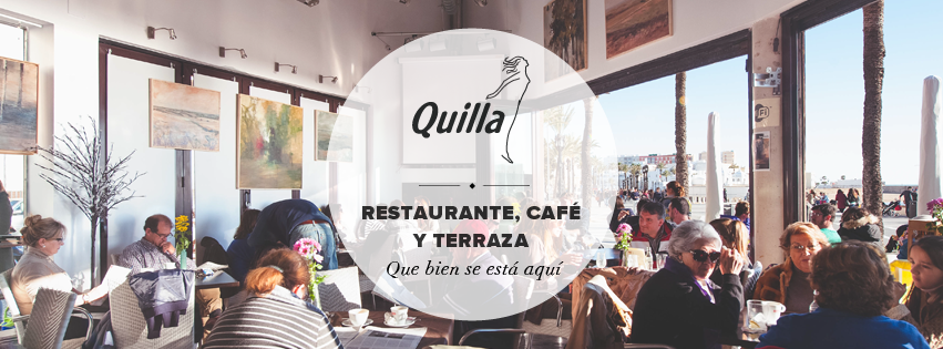 Podemos ver a los clientes disfrutar de los diferentes ambientes que tiene Quilla.