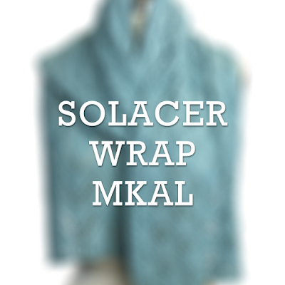 The Solacer Wrap MKAL, hosted by Makers' Mercantile and designed by The Chilly Dog, is a meditative stitching project beginning July 31, 2020.
