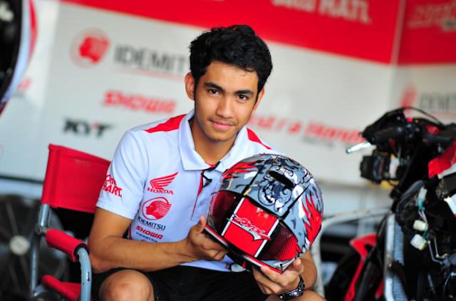 Kebanggaan Bangsa Indonesia, Andi Gilang Membalap Semusim Penuh di GP Moto2 2020