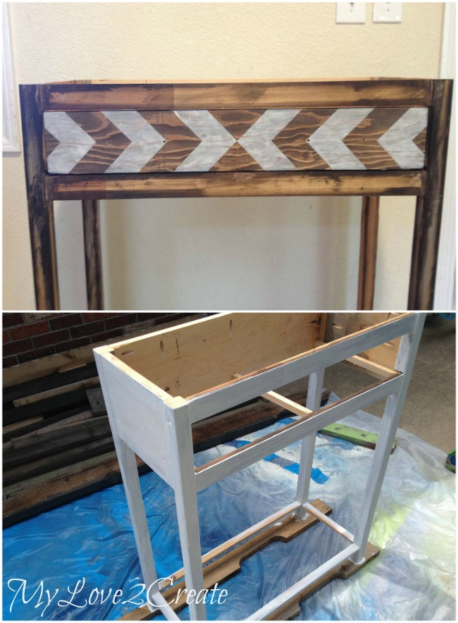 painting entry table base