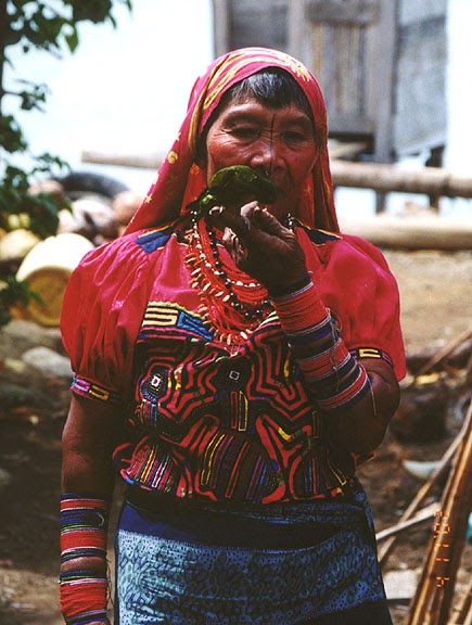 Prism Of Threads ⋱⋮⋰⋱⋮⋰ Kuna Indians Of Panama