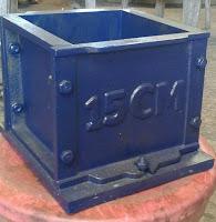 Concrete Cube Mold 20 x 20 x 15 cm
