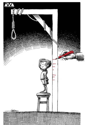 Executing juvenile offenders in Iran