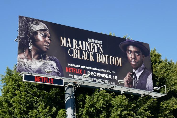 Ma Raineys Black Bottom movie billboard