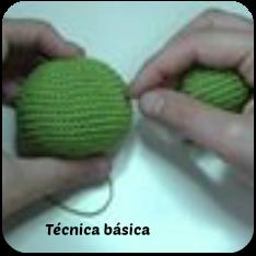 técnica básica para tejer amigurumis