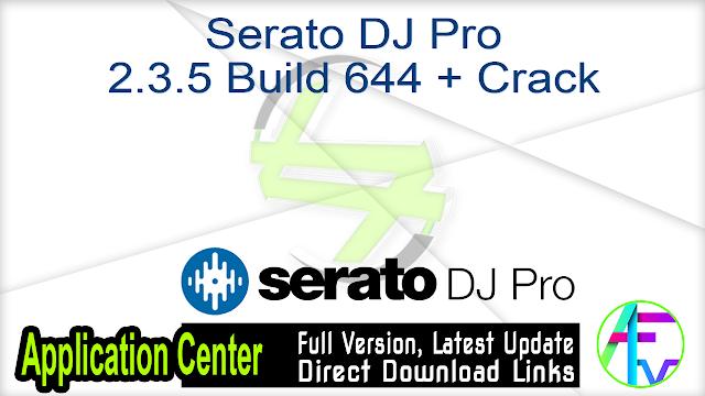 Serato DJ Pro 2.3.5 Build 644 + Crack
