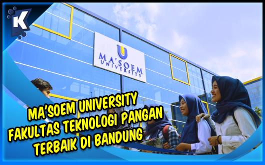 Ma'Soem University - Fakultas Teknologi Pangan Terbaik di Bandung