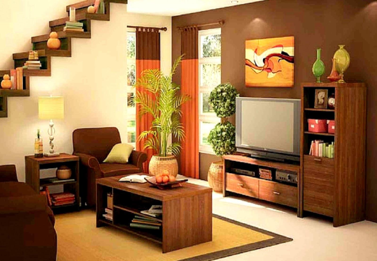 Peralatan Juga Haruslah Minimal Asas Bagi Ruang Tamu Seperti Tv Audio Sistem Dan Rak Sudah Memadai