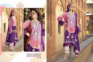 Shree Fab Sana safinaz Mahay collection 4 pakistani suits