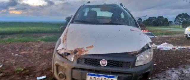 Pitanga: Homem de 47 morre em acidente na PR-466