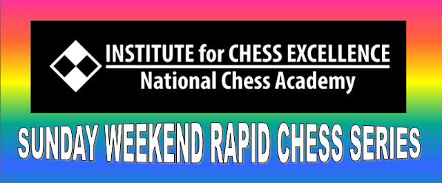 Institut Kecemerlangan Catur (ICE) Sunday Rapid Chess Series (13 OGOS 2017)