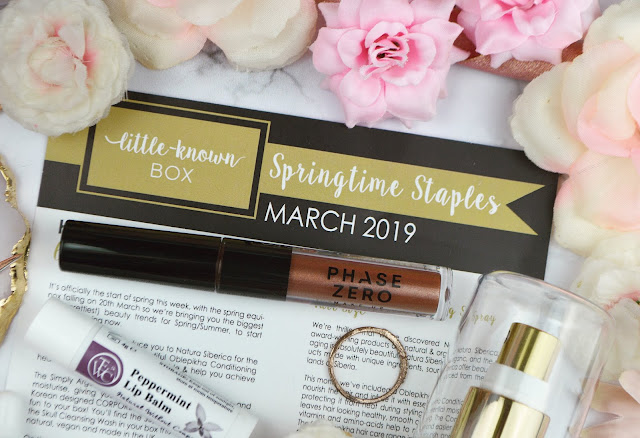 March 2019's Little Known Box: The Springtime Staples Edit, Lovelaughslipstick Blog