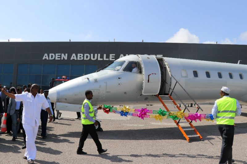 <First commercial flight in 40 years links Ethiopia to Somalia