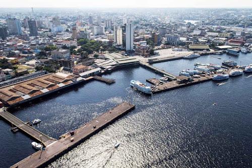 Maior porto flutuante do mundo, Manaus
