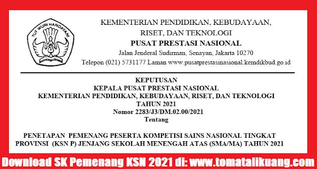 pemenang ksn p sma provinsi tahun 2021 pusat prestasi nasional puspresnas kemdikbudristek tomatalikuang.com.jpg