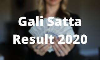 Gali Satta King Chart 2020