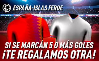 sportium Promo España vs Islas Feroe 8 septiembre 2019