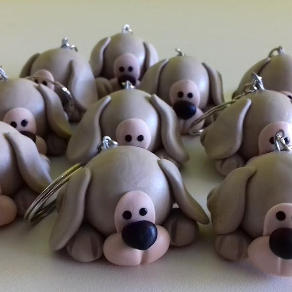 Chaveiros de Cachorrinhos