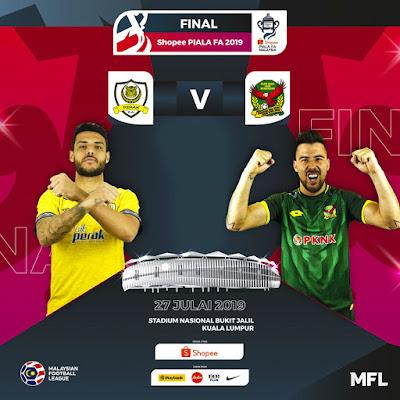Live Streaming Perak vs Kedah 27.7.2019 (Final Piala Fa)