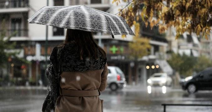 Βροχές και καταιγίδες στο μεγαλύτερο μέρος της χώρας σήμερα Κυριακή