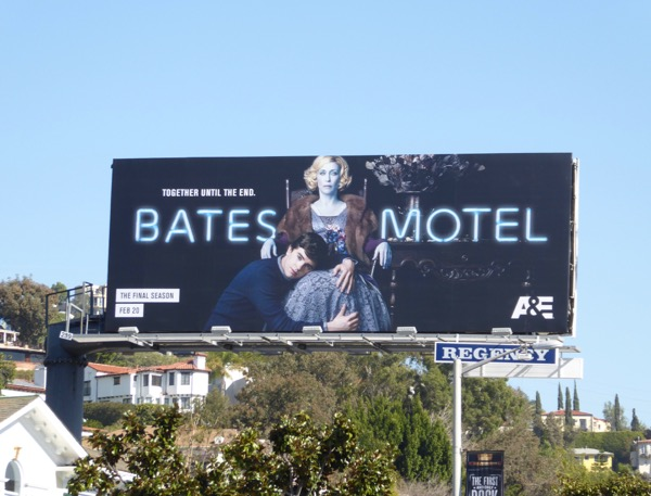Bates Motel final season billboard