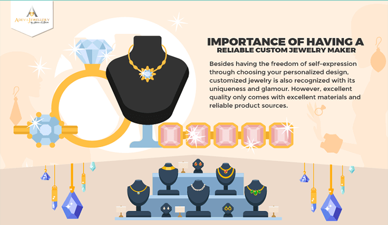 Importance of Having a Reliable Custom Jewelry Maker  #Infographics