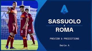 Sassuolo vs Roma Preview and Prediction 2021