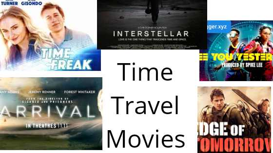 Top 5 Time Travel Movies to watch in 2020