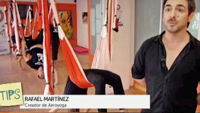 METODO AERO YOGA EN TELEVISION CON RAFAEL MARTINEZ