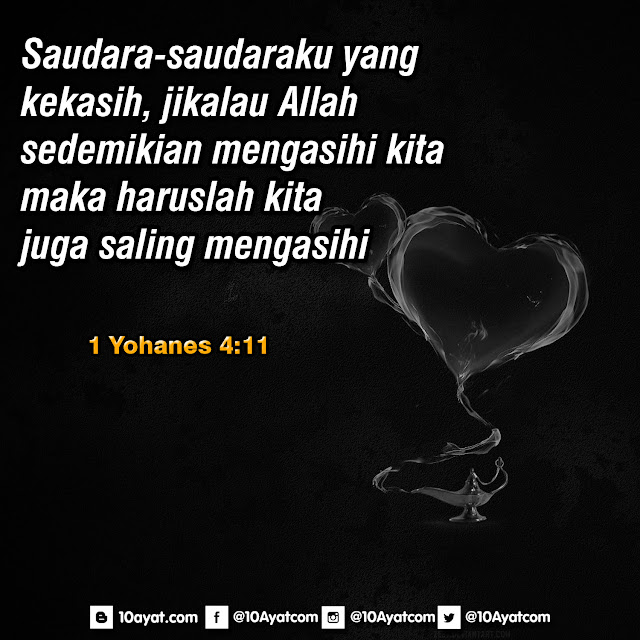 1 Yohanes 4:11